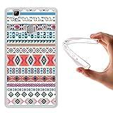 WoowCase Doogee X5 Max Hülle, Handyhülle Silikon für [ Doogee X5 Max ] Stammdesign Handytasche Handy Cover Case Schutzhülle Flexible TPU - Transparent