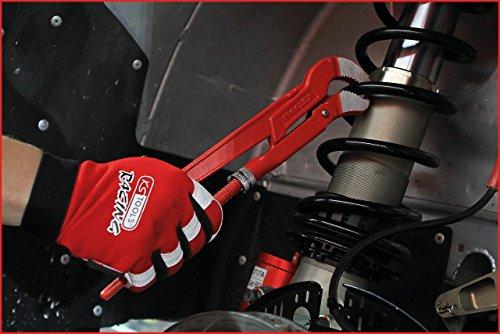 KS Tools 113.1000 45° gewinkelte Eckrohrzange, 1 Zoll
