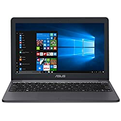 Asus VivoBook E203MA Thin Laptop with Intel Celeron N4000 Processor 4GB LPDDR4, 64GB eMMC Flash Storage, HD, USB-C, Windows 10 S Mode (E203MA-YS03)