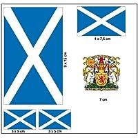 Aufkleber Set Schottland Fahne Flagge