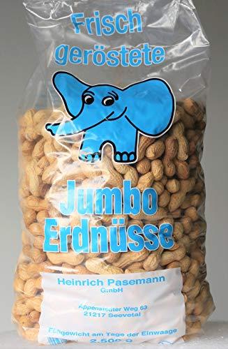 Preisvergleich Produktbild Jumbo Erdnüsse - frisch geröstet NEUE ERNTE 2500g