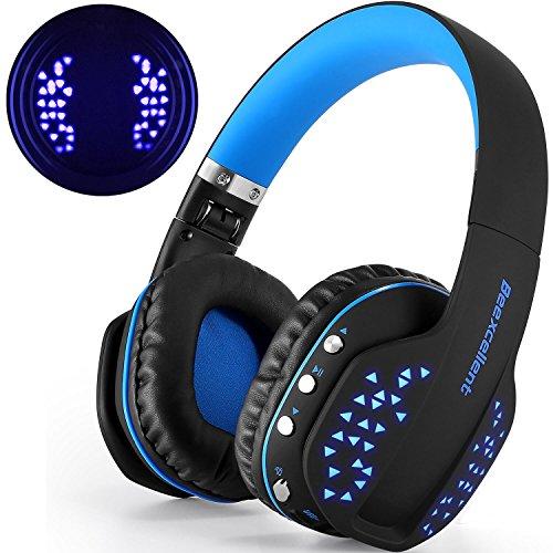 Cascos Bluetooth, Beexcellent Cascos Auriculares Inalámbricos de Diadema Plegables Estéreo Bluetooth V4.1...