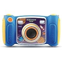 VTech - Kidizoom Smile Bleu Appareil Photo Pour Enfant, Dès 3 Ans - Version FR