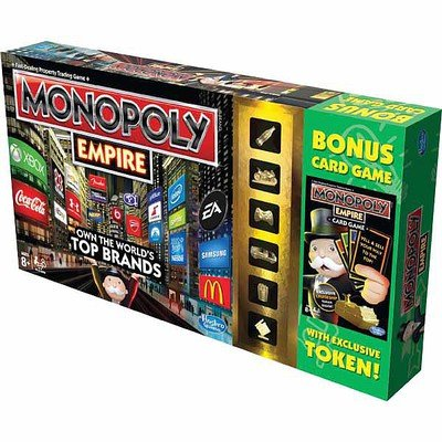 Monopoly Empire with Bonus Card Game by Hasbro