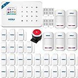 Best Diy Alarm Systems - KERUI W18 433MHz Cellular GSM Wireless Burglar Home Review