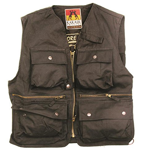 cacatua-traders-outdoor-multifuktions-gilet-river-land-field-vest-adulti-unisex-nero-xs