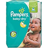 Pampers Baby Dry Windeln, Gr.5+ (Junior+) 13-27 kg, Monatsbox, 132 Stück