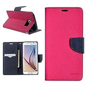 MV FLIP COVER FOR Xiaomi Redmi Note 2 - (Pink,Blue)