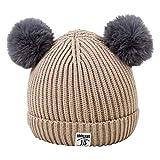 JUTOO Baby Kleinkind Mädchen Jungen Infant Warme Winter Strickmütze Hut Häkeln Ski Ball Cap