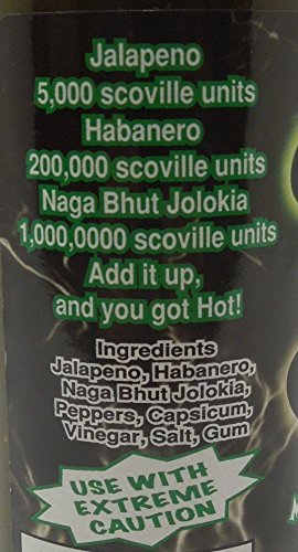 Hot & Fire - Green Ghost Chili Sauce - 148ml