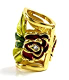 manchetten 4565sciarpa e panno manchetten strass occhiello Tuecher Scarf Cuff (Rose oro)
