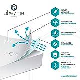 DHestia - Protector Colchón Impermeable y Transpirable Hipoalergénico, Anti-acaros y Anti-bacterias (Algodón Liso/Smooth Cotton, 150 x 190/200 cm)