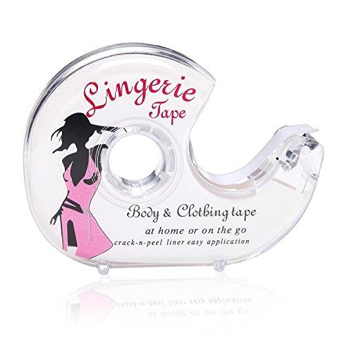 Coofan Fashion Tape Doppelseitiges Geheimes BH Klebeband Safe für Frauen Body Bekleidung Kleid Butt Pads Nippel Cover