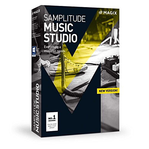 MAGIX Samplitude Music Studio – 2017 version – The Recording Studio for editing, recording and producing music