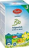 Töpfer Lactana Bio 3 Folgemilch - ab dem 10. Monat, 2er Pack (2 x 600g)