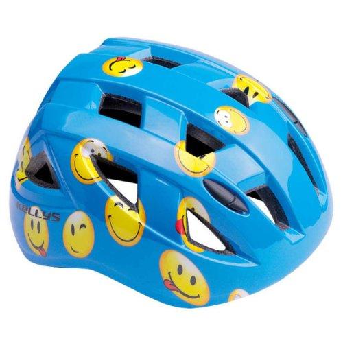 Kellys Kinder Fahrradhelm Smarty smile Kinderhelm blau M(54-58 cm)