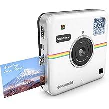 """Polaroid Socialmatic - Cámara instantánea (pantalla de 4.5""""), color blanco"""