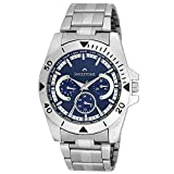Swisstone Blue Dial Stainless Steel Chai...
