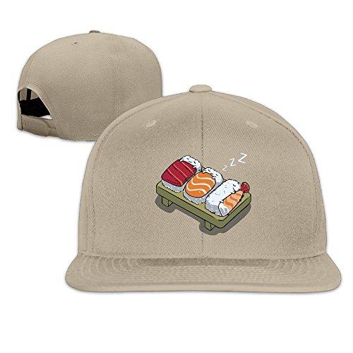 Doormats-shirt Sleeping Sushi Baseball Tumblr Backsnap Hats Bones Hip Hop For Men Women