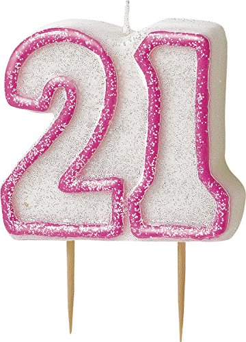 bling-party-decorations-and-tableware-for-21st-birthday-in-pink-glitz-21-candle
