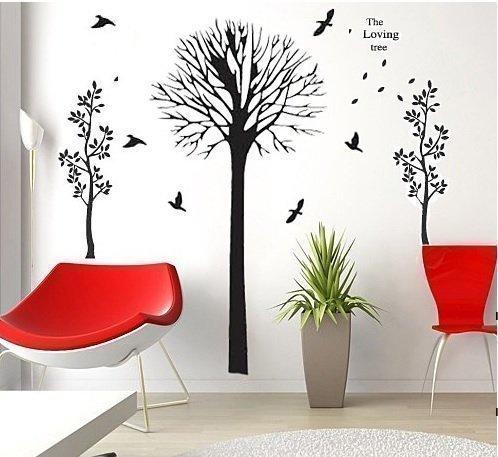 COM-Loving Tree + Autumn Tree 6P-IO7K-ITRV - Producto para casa, color negro