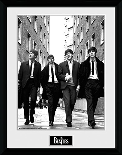 GB Eye gerahmtes Foto, The Beatles In London, 40,6 x 30,5 cm Hochformat -