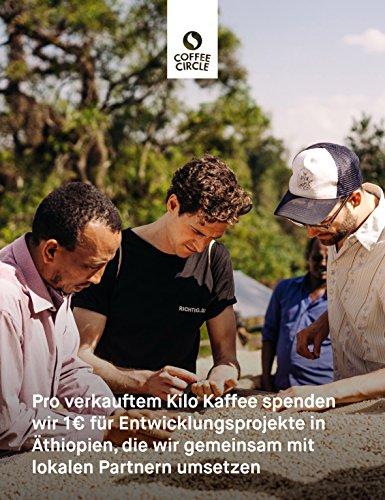 Coffee Circle   Premium Kaffee Limu   350g ganze Bohne   Blumiger Filterkaffee aus äthiopischen Waldgärten   100% Arabica   fair & direkt gehandelt   frisch & schonend geröstet - 5