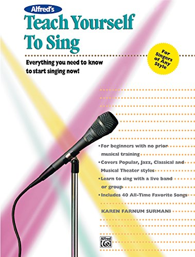 Alfred's Teach Yourself to Sing with CDROM PDF Download - AbduwelErik