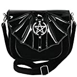Restyle Samt Handtasche - Night Creature
