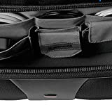 Wenger 600662 PATRIOT 17 2-Piece Business Wheeled Laptop Briefcase , Padded laptop compartment with Matching 15.4 Laptop Case in Black {38 Litres}