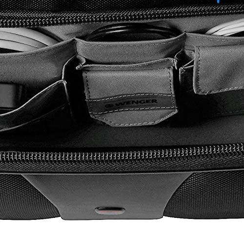 Wenger 600662 –  Equipaje para portátiles de 15.4 «, con Comp-U-Roller, color negro