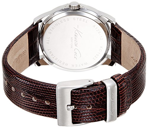 Kenneth Cole Men's Quartz Watch KC1923 KC1923 with Leather Strap