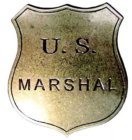 Denix uS marshall badge messingf. shérif de cowboy