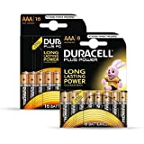 "DURACELL piles alcaline ""PLUS POWER"", Micro, Lot de 24"