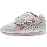 Reebok Royal Cljog 2 KC, Zapatillas de Trail Running Unisex Niño, Gris (Elephant/Cloud Grey/Charming Pink 000), 24 EU