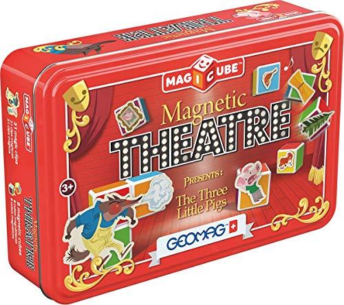 Geomag MAGICUBE Magnetic Theatre, 42 Piezas