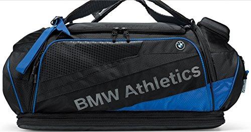 bmw-genuine-athletics-performance-black-royal-blue-sports-luggage-bag-rucksack