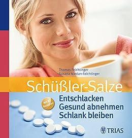 schussler salze entschlacken gesund abnehmen schlank bleiben mit 82 rezepten von feichtinger