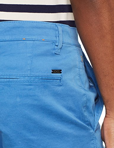 BOSS Casual Herren Schino-Regular-Short Blau (Bright Blue 432)