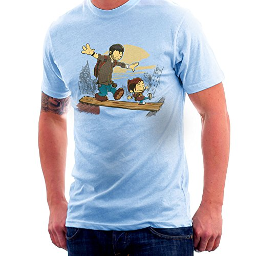 Two Of Us Joel And Ellie The Last Of Us Men's T-Shirt