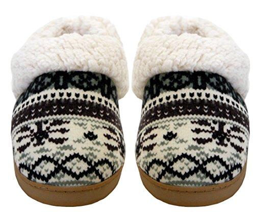 A&H Footwear - Ciabatte da ragazza' donna Black/White Multi