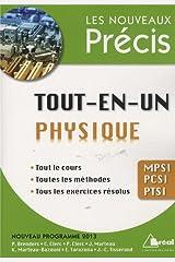 Tout-en-un physique MPSI PCSI PTSI Poche