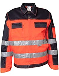 Planam Bundjacke Warnschutz, Größe 29, 1 Stück, orange / marine, 2006029