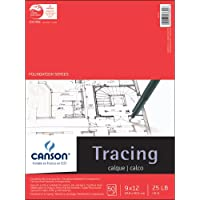 Canson Foundation Series Tracing Paper Pad 9 x 12-inch50 Hojas