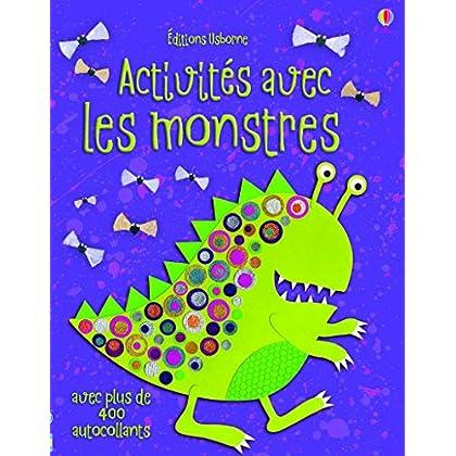 Activités avec les monstres