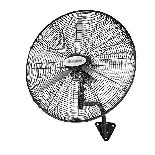 Standventilatoren Industrieller Fan-Wand-Fan-Technik-Fabrik Elektrischer Fan-Wand-Berg-großer Elektrischer Fan-Eisen-Blatt, Schwarz