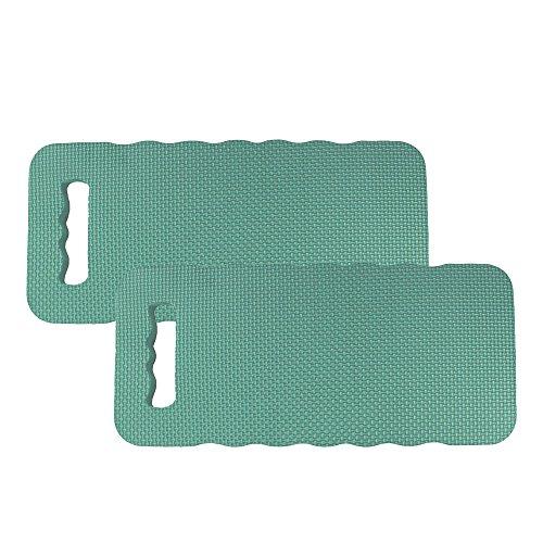 COM-FOUR® Kniekissen - Zum Schonen Ihrer Knie - für den Garten, das Haus, in der Freizeit oder für Arbeiten am Auto (Kniekissen 2 Stück)