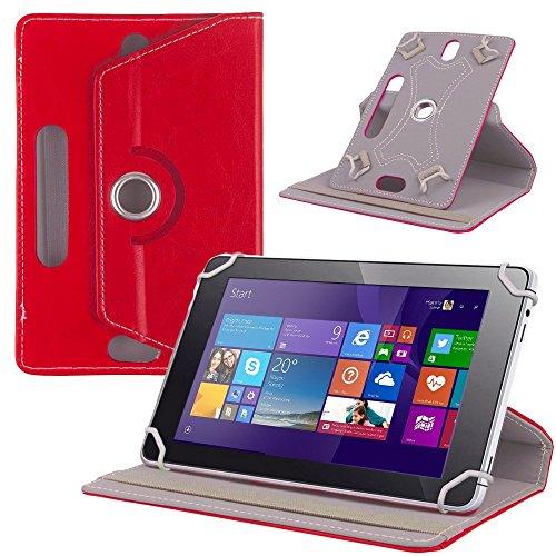 UC-Express Tablet Tasche f Jay Tech CANOX Tablet PC 101 Hülle Schutz Case Cover Schutzhülle, Farben:Rot