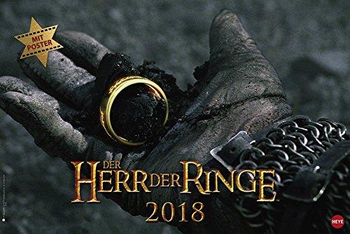 Der Herr der Ringe Broschur XL - Kalender 2018