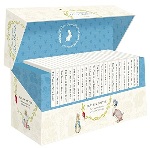 The World of Peter Rabbit - The Complete Collection of Original Tales 1-23 White Jackets par Beatrix Potter